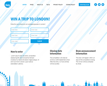 Competition Microsite